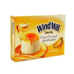 Crème caramel - Goût de Bananas - WindMill 180g