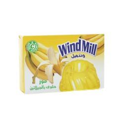 جيليه حلال - نكهة الموز- ماركة وندميل 100غ