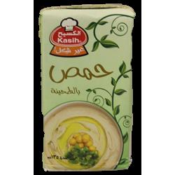 حمص بالطحينة - مسبحة - ماركة الكسيح 135غ
