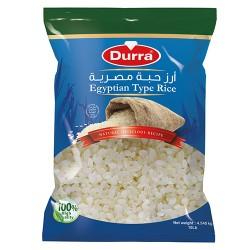 أرز - حبة متوسطة - مصري - ماركة الدرة - 4500غ