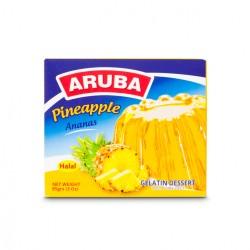 جيليه حلال - نكهة الأناناس- ماركة اروبا 85غ