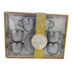 Turc, tasse de café arabe. 6 pièces - Modèle 2303