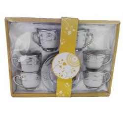 Turc, tasse de café arabe. 6 pièces - Modèle 1214