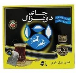 شاي ايرل غراي - 100 ظرف - ماركة الغزالين 200غ