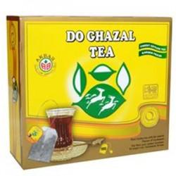 شاي سيلاني أسود بالهيل - 100 ظرف - ماركة الغزالين 200غ