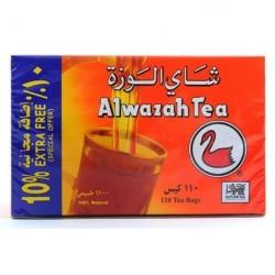 Thé de Ceylan - 110 Sachets - Alwazah 200g