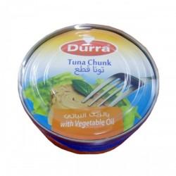 Thon tronçon - avec huile végétale - Al-Durra 160g