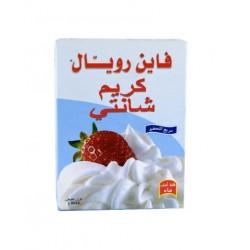 كريم شانتيه - نكهة الحليب - ماركة فاين رويال 120غ