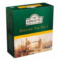 شاي أسود - 100 ظرف - ماركة أحمد تي 200غ