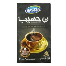 Café arabe turc - Super Extra Cardamome - Haseeb 500g