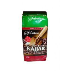 Café arabe turc - avec Cardamome - Najjar 450g