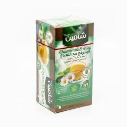 Tisane - Mélange de Fleurs de camomille à la menthe - 20 sachet - Chamain 50g