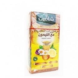 زهورات شامية مع الليمون - 20 ظرف- ماركة شامين 50غ