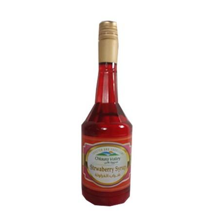 شراب مركز - بطعم الفراولة - ماركة شتورة فالي 570 مل