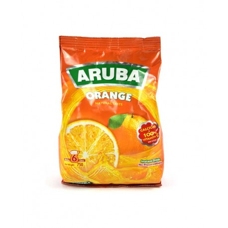 شراب بودرة - بطعم البرتقال - ماركة اروبا 750غ