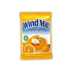 مسحوق الكاسترد - بنكهة البرتقال - ماركة ويندميل 1 ظرف 45غ