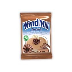 مسحوق الكاسترد - بنكهة الشوكولا - ماركة ويندميل 1 ظرف 45غ