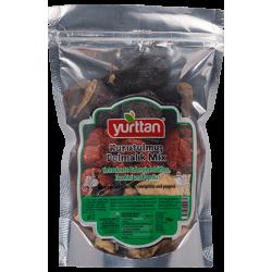 Mix Aubergine,poivronet courgette séchée - Yurttan 50g