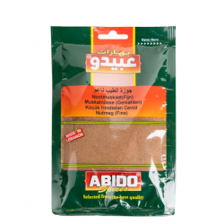 Poudre de noix de muscade - Abido 50g