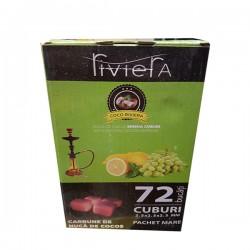 فحم جوز الهند الطبيعي -ريفيرا - 1كغ