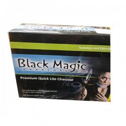 Charbon de bois pour Narguilé - Black magic- 100 pièces
