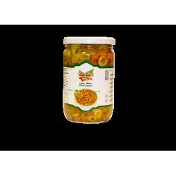 Oliven grün - Salat - Scheiben - Al-gota 600g